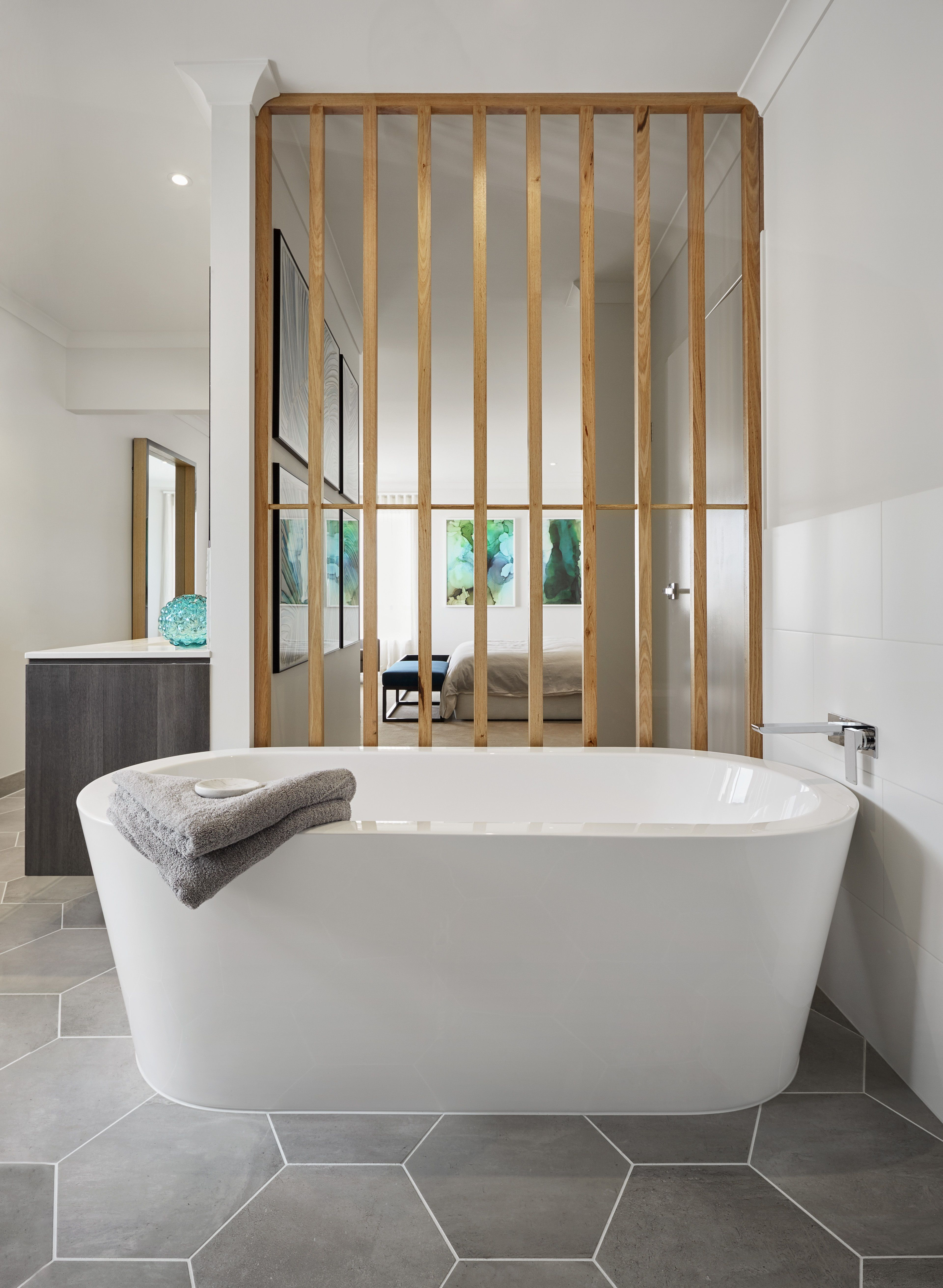 Arden Homes Toulouse Luxury Master Suite Bathroom On Display At The Address Estate Point Cook Melbourne