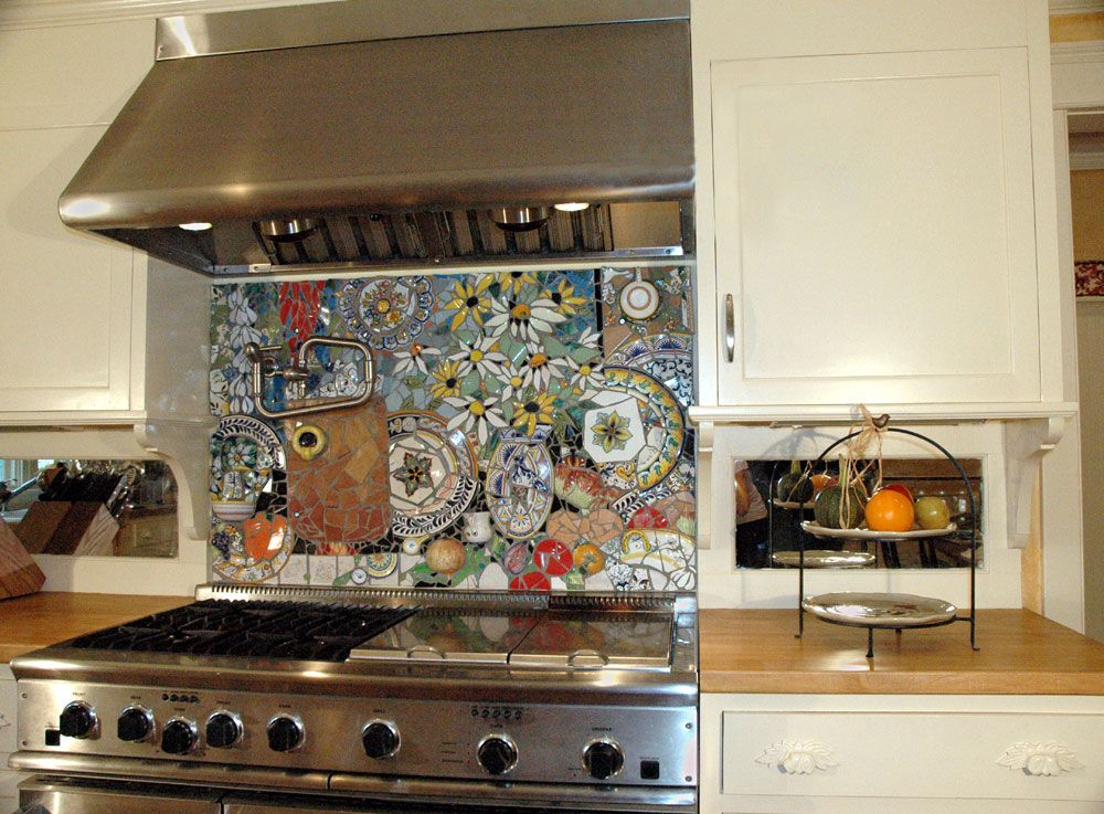 Küchenwandfliesen 16 Wonderful Mosaic Kitchen Backsplashes (with Images