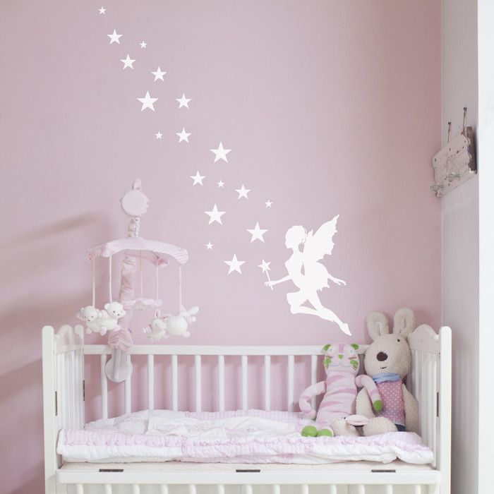 Nutmeg Wall Stickers Fairy Magic Sticker Reviews Wayfair Uk