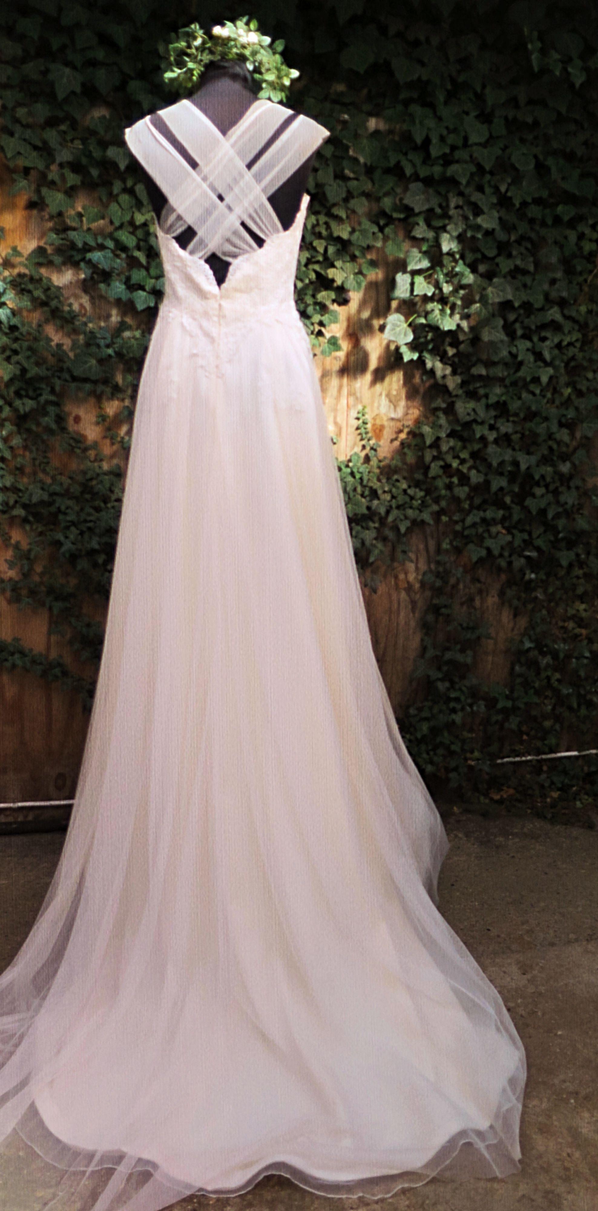 Hayley paige dori wedding dress  Adair back imageBlush by Hayley Paige lavenderandjude  Blush by