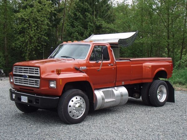 1992 Ford F800 Custom Tow Vehicle Camiones Chevy Camiones Gmc