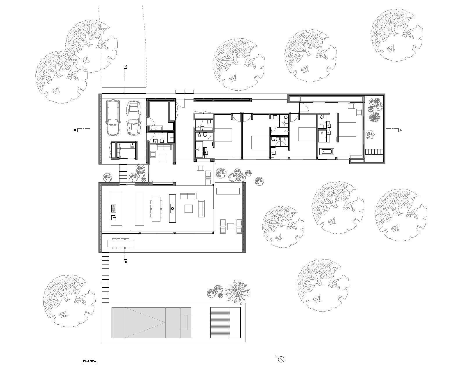 Gallery Of Comporta House Rrj Arquitectos 19 Modern House Plans House Floor Plans House Layouts