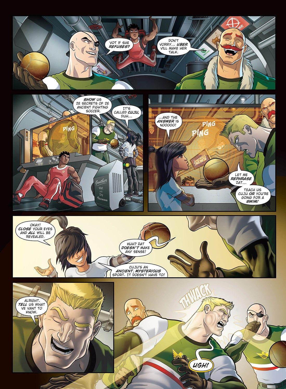 Home Supastrikas Close Your Eyes Iron Tanks Comic Page