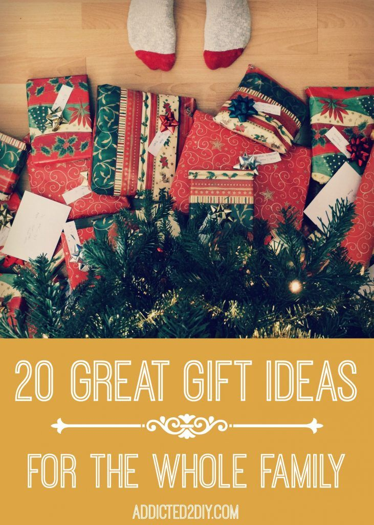 Find something for everyone on your list this Christmas with these great gift  ideas for the whole family! #sponsored - 20 Great Gift Ideas For The Whole Family Rockin' Handy DIY