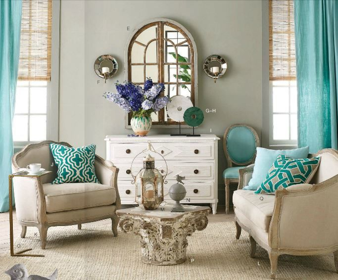 Captivating Gray Walls With A Hint Of Sage With Accents In Aqua / Teal, Oatmeal / Part 31