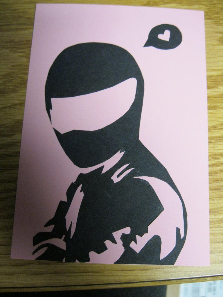The Stig Loves you! (thought bubble instead of speech bubble would be better)