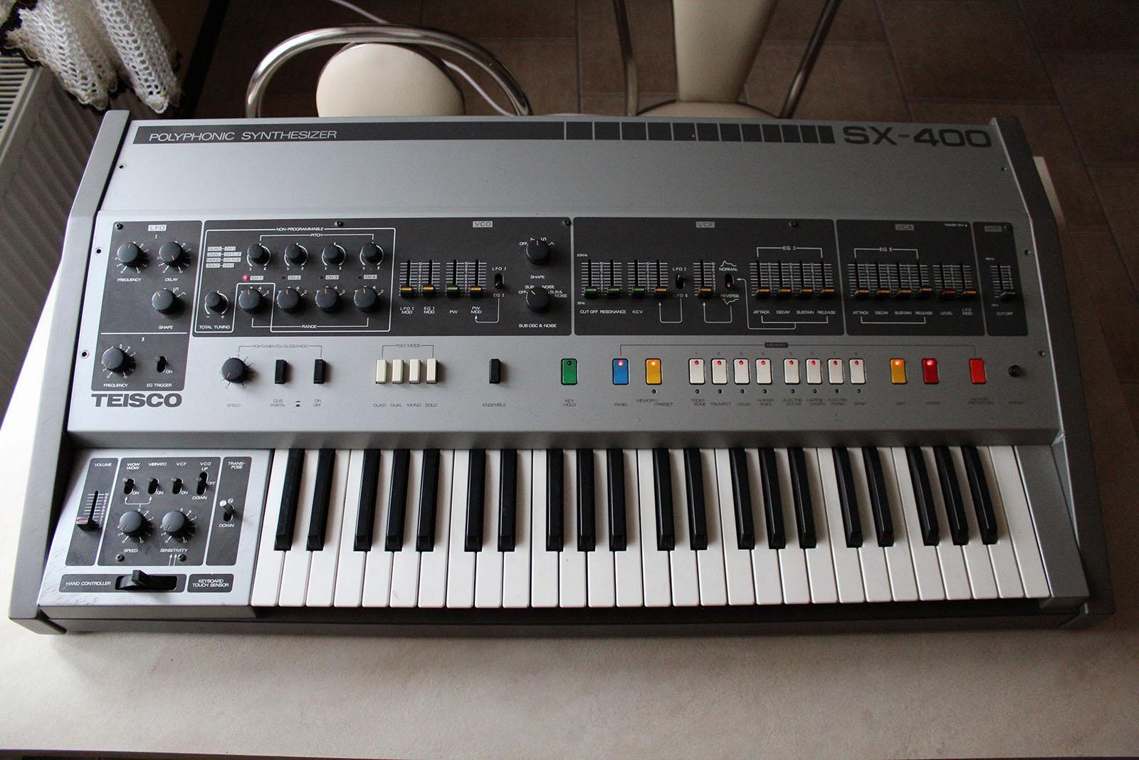 teisco sx 400 synth keys in 2019 music music den drum machine. Black Bedroom Furniture Sets. Home Design Ideas