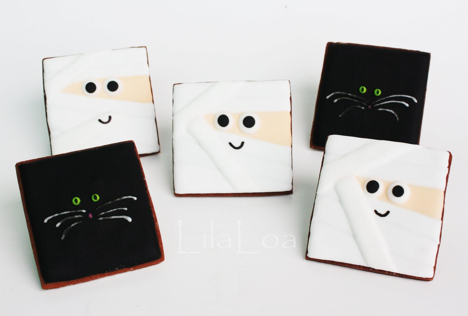 LilaLoa: Mummy and Cat Cookies