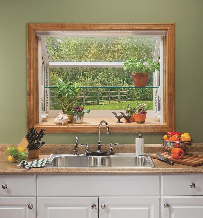 Garden Kitchen Windows Bay Window Above Kitchen Sink: Decorate Ideas For Kitchen Bay Window