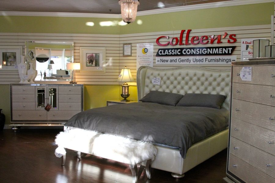 Aico Hollywood Swank Bedroom Set   Colleenu0027s Classic Consignment, Las Vegas.