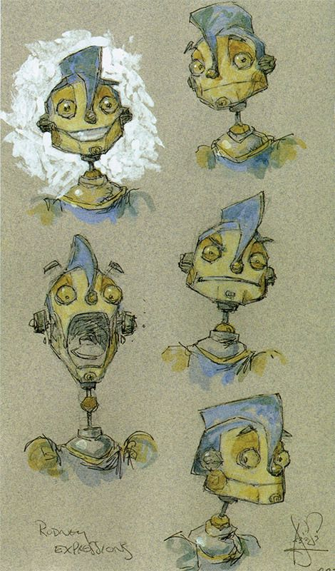 robots 2005 concept art by peter de seve and greg couch source