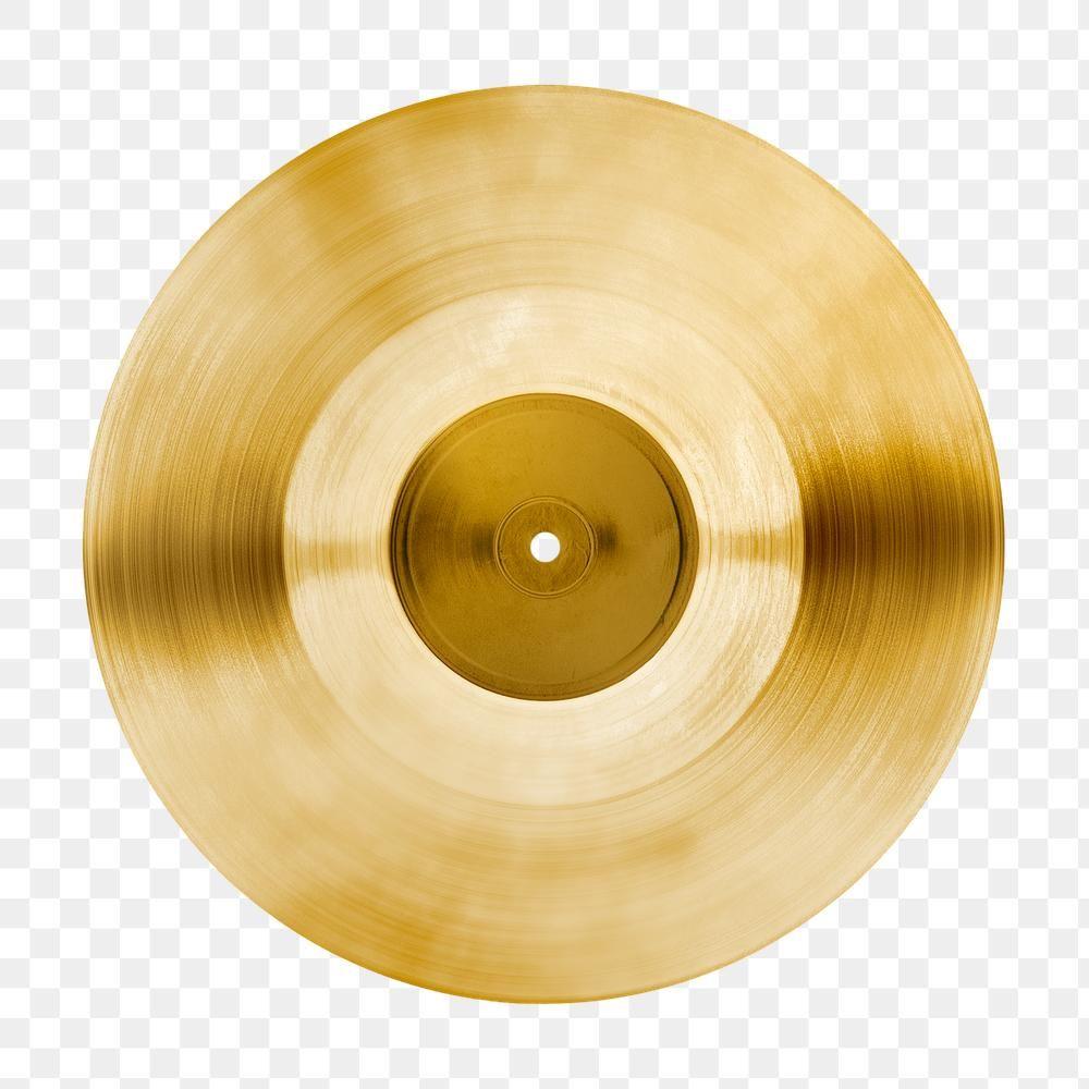 Golden Vinyl Record Design Element Free Image By Rawpixel Com Kwanloy Vinyl Records Design Element Vinyl