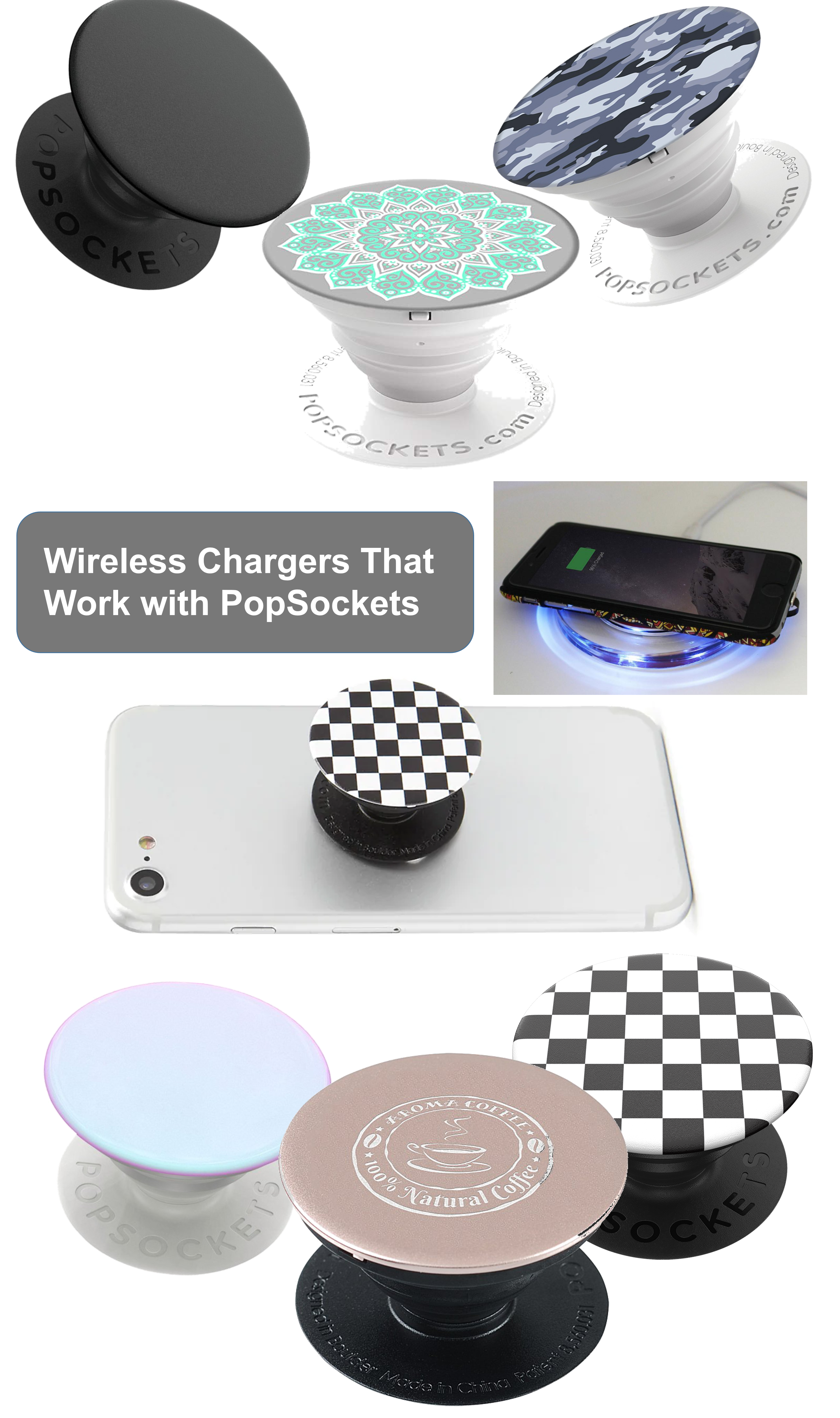 Wireless Chargers That Work With Popsockets Popsockets Wireless Charger Popsockets Phones