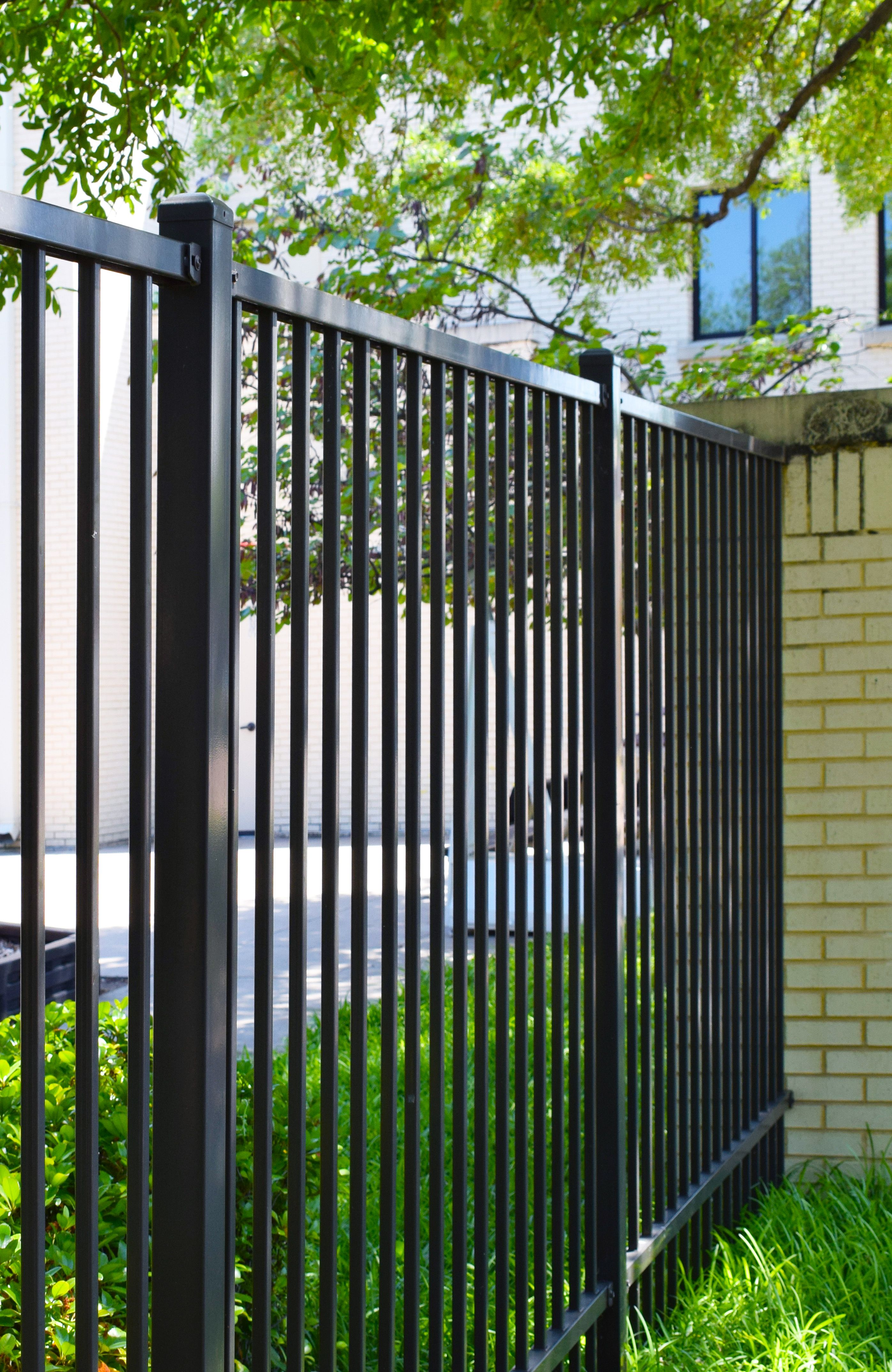 Our Monument Rackable Fence Panels Are Powder Coated 100 Galvanized Inside Out And Are Perfect For Flat Or Sloped Terrain Up Fence Panels Fence Metal Fence