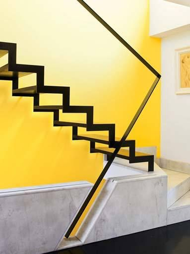 Interiors Minimalist Staircase Contemporary Stairs