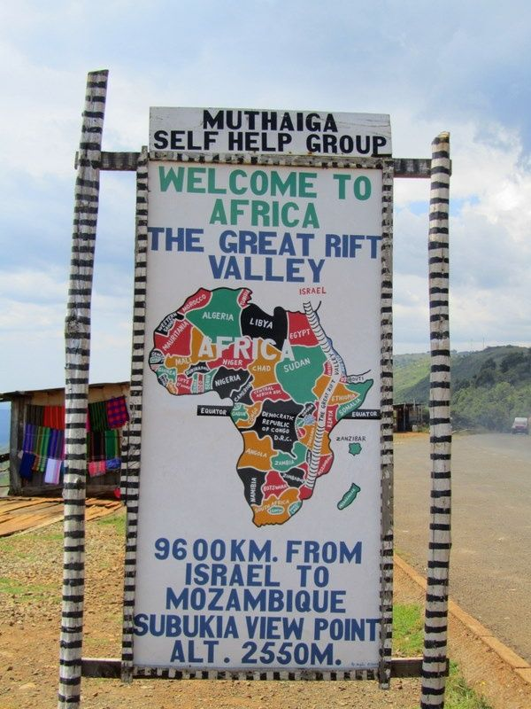 great rift valley in africa map