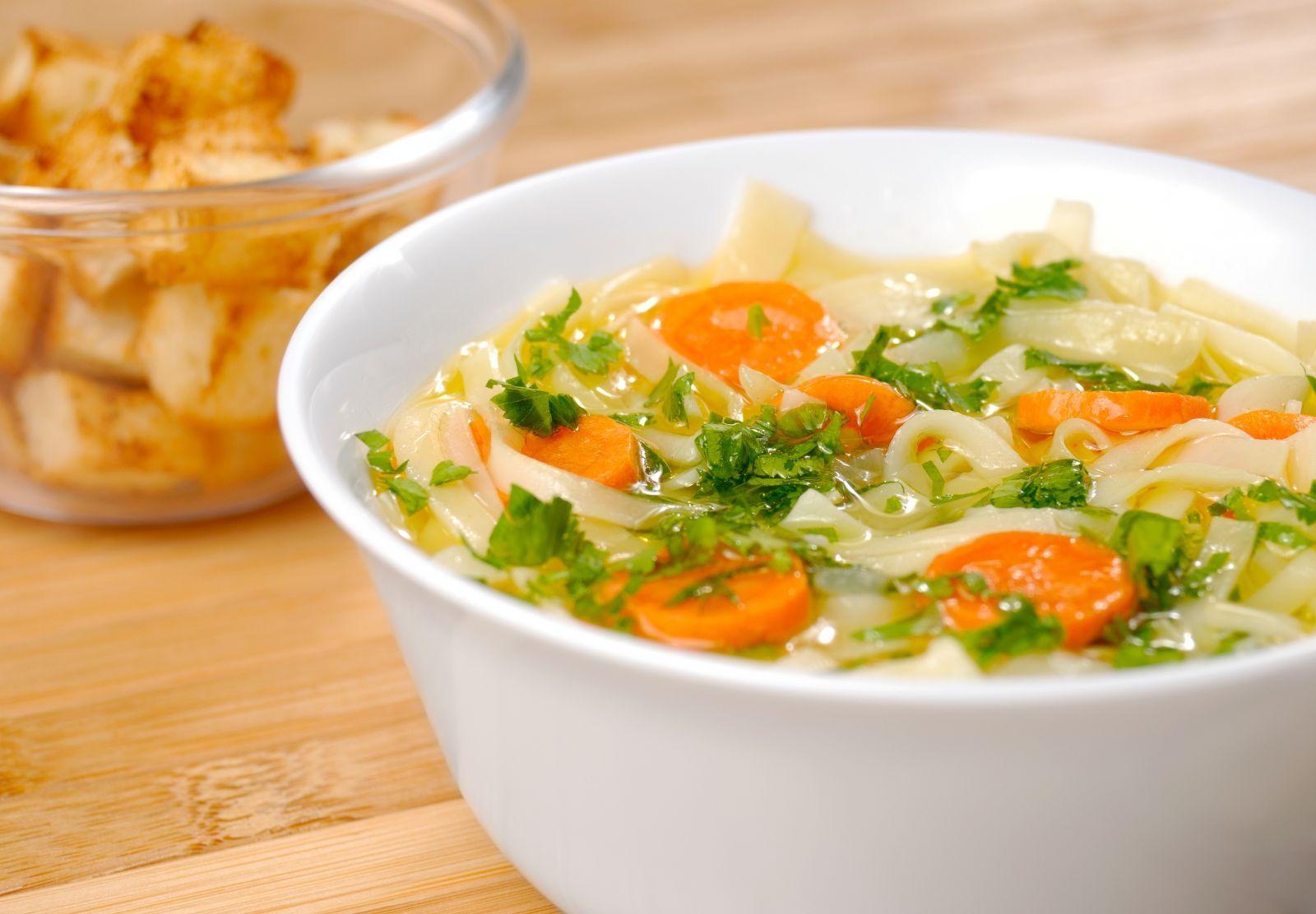 Ingredientes de la sopa de verduras para adelgazar