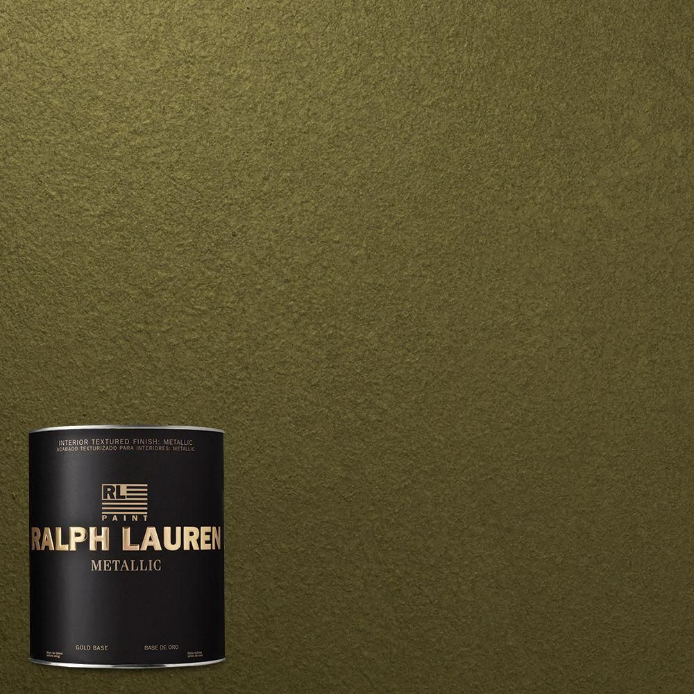 Ralph lauren 1 qt moss green metallic specialty finish Ralph lauren paint colors