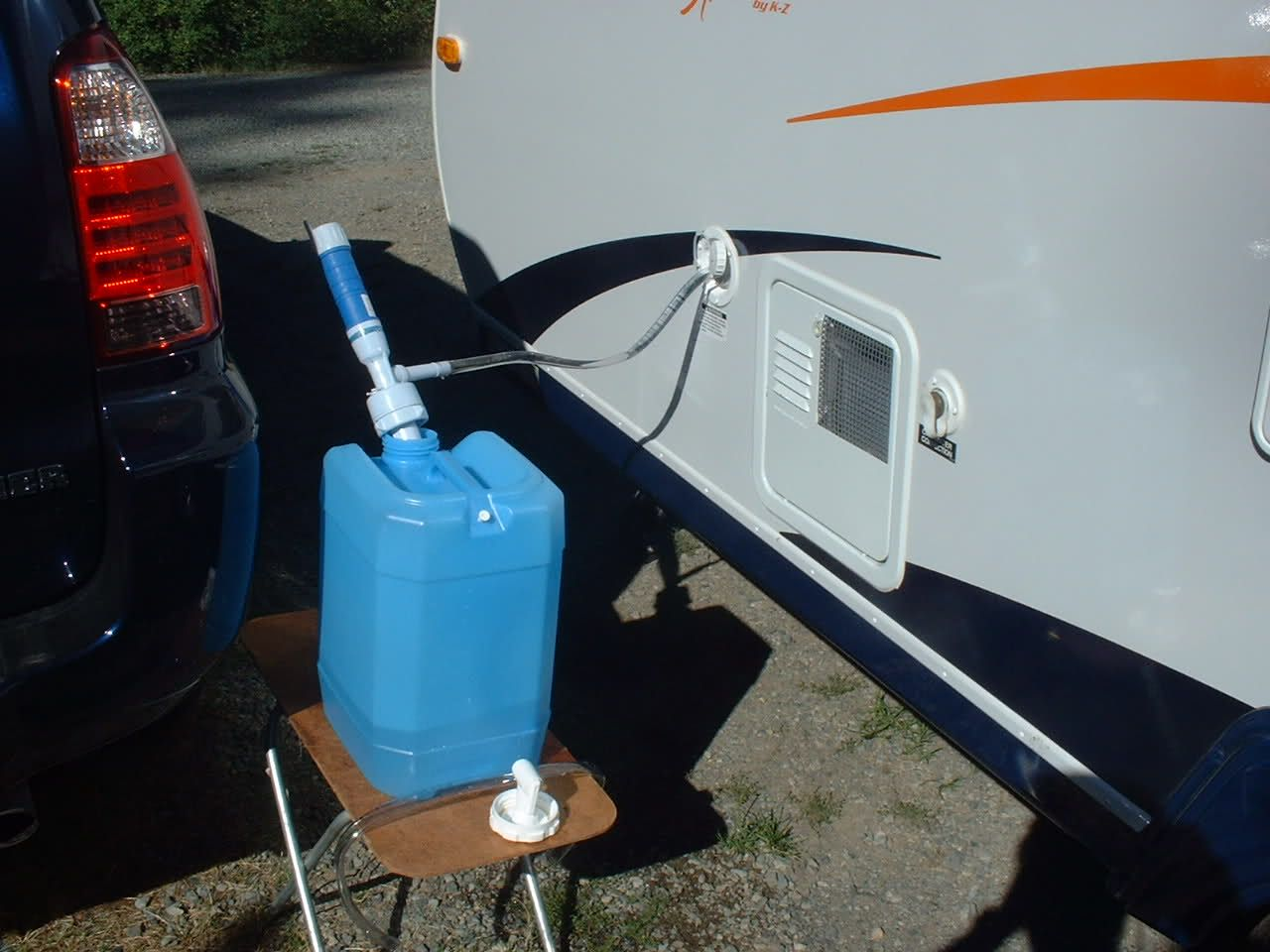 Small 5 gallon water bottle battery operated pump | RV-ing ...
