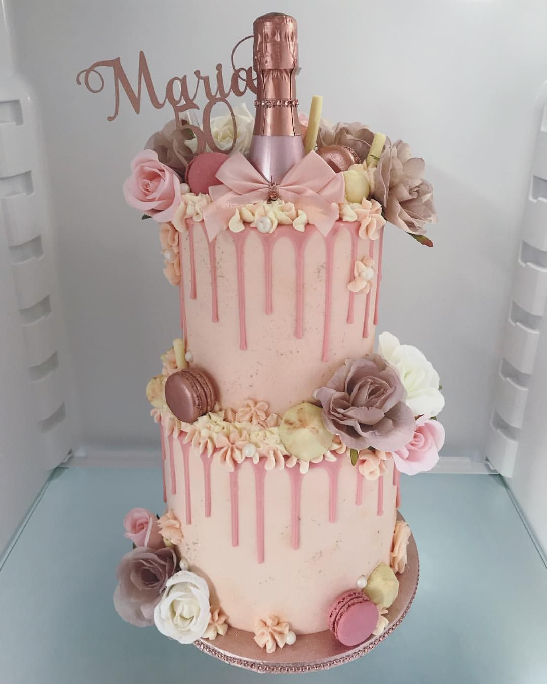 Peachy Maria West On Instagram 50Th Birthday Cake For Maria Funny Birthday Cards Online Overcheapnameinfo