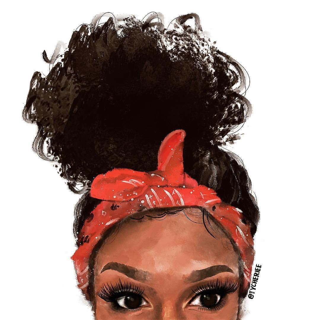 Pin By Vickki Sykes Cramton On Creativemynds Drawings Of Black Girls Natural Hair Art