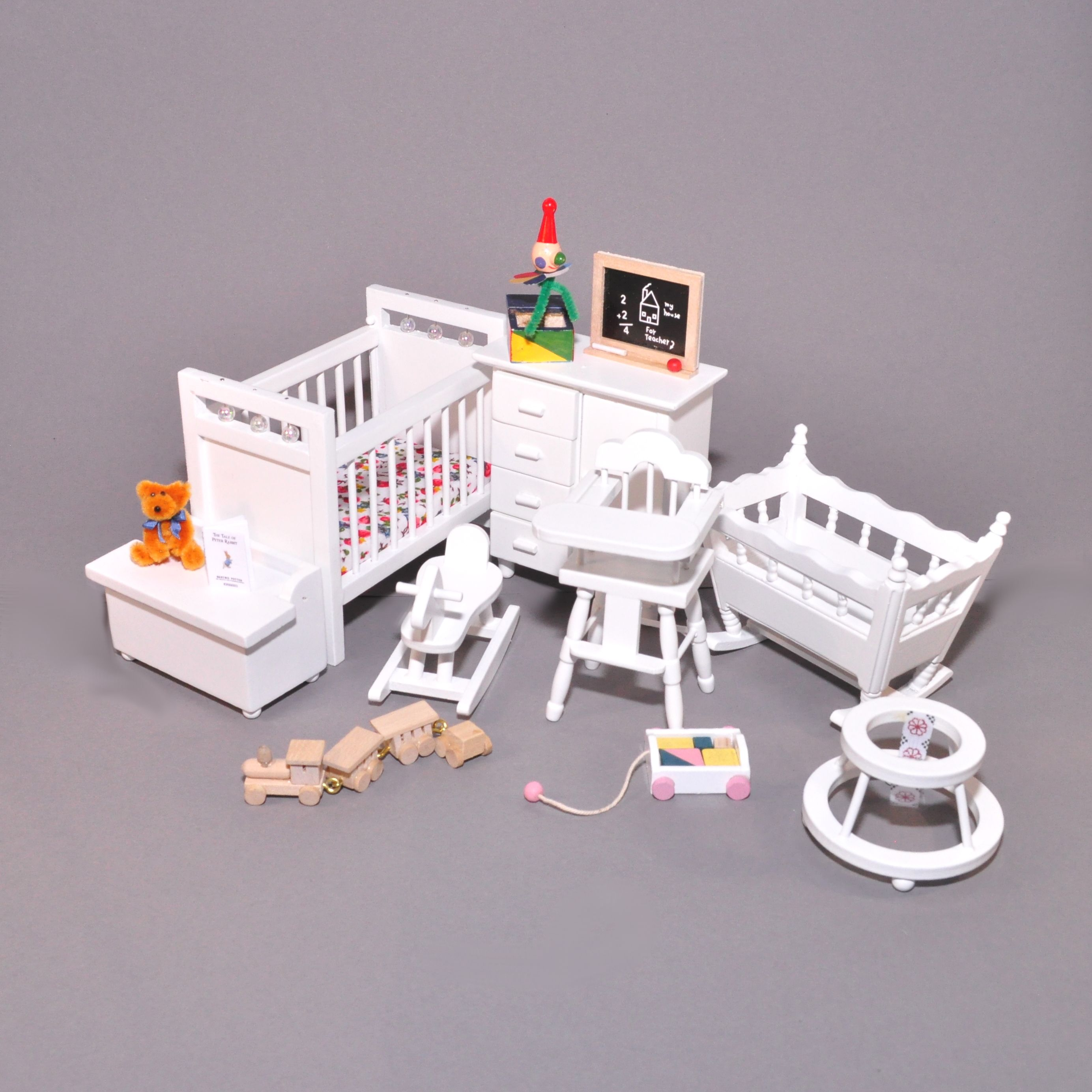 Dolls House Miniature 1:12 Nursery Toy Shop Accessory Jack in the Box