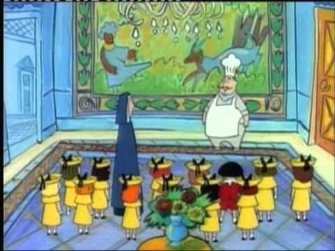 Madeline visite au louvre dessin animé des années 90 youtube