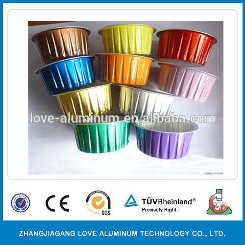Wholesale Hot Selling Disposable Aluminium Foil Cup With Lid