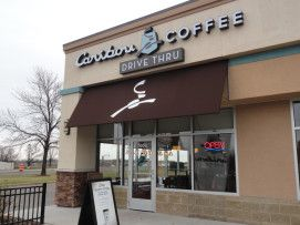 Caribou Coffee - Bergen Plaza - Oakdale, MN.  Whether going to work, going out, or just going home. Caribou will be there to keep you going through all of it.  https://www.facebook.com/WilkusArchitects