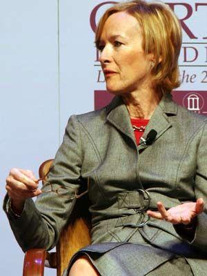PBS Newshour anchor Judy Woodruff