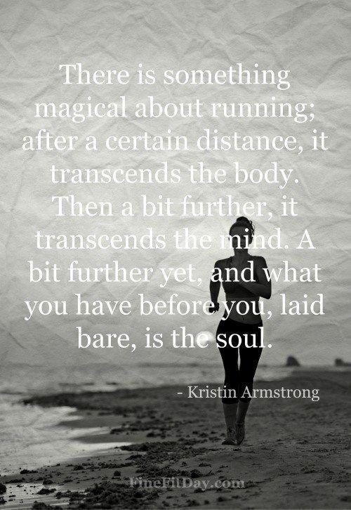 8 Inspirational Running Quotes #marathonrunning