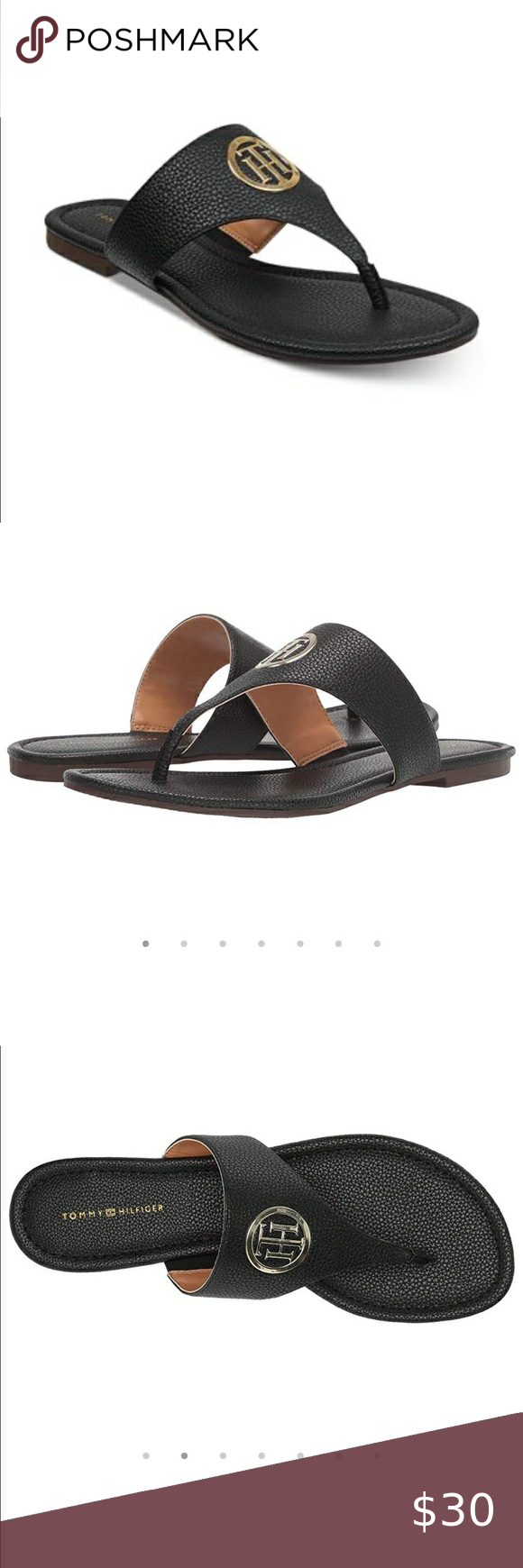 Sinder Thong Sandals Tommy Hilfiger Womens
