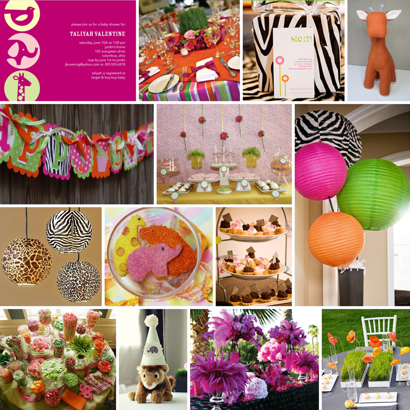 Zoo Birthday Party for a girl OBSESSED WITH THIS ONE FOR BROOKLEN