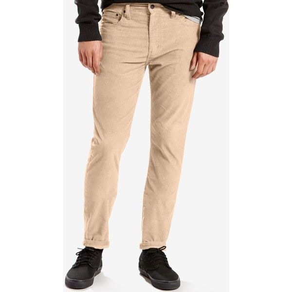 Levi's Men's 512 Slim Tapered Fit Jeans ($47) ❤ liked on Polyvore featuring  men's