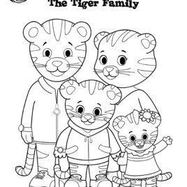 free daniel tiger coloring pages  daniel tiger coloring
