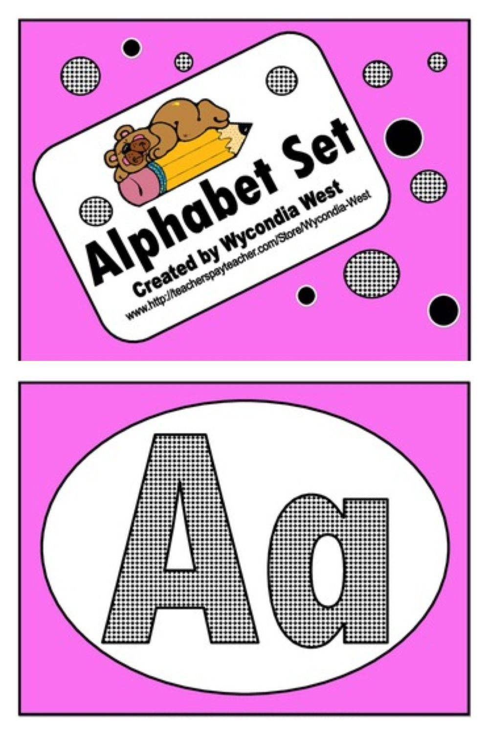 Alphabet set that is great for letter recognition. This is good for ESL beginning readers. This set does not include a picture on the cards.