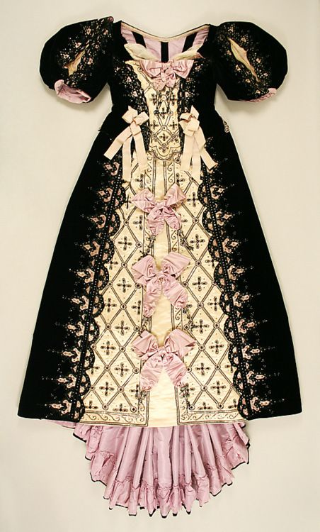1890's french ball gown