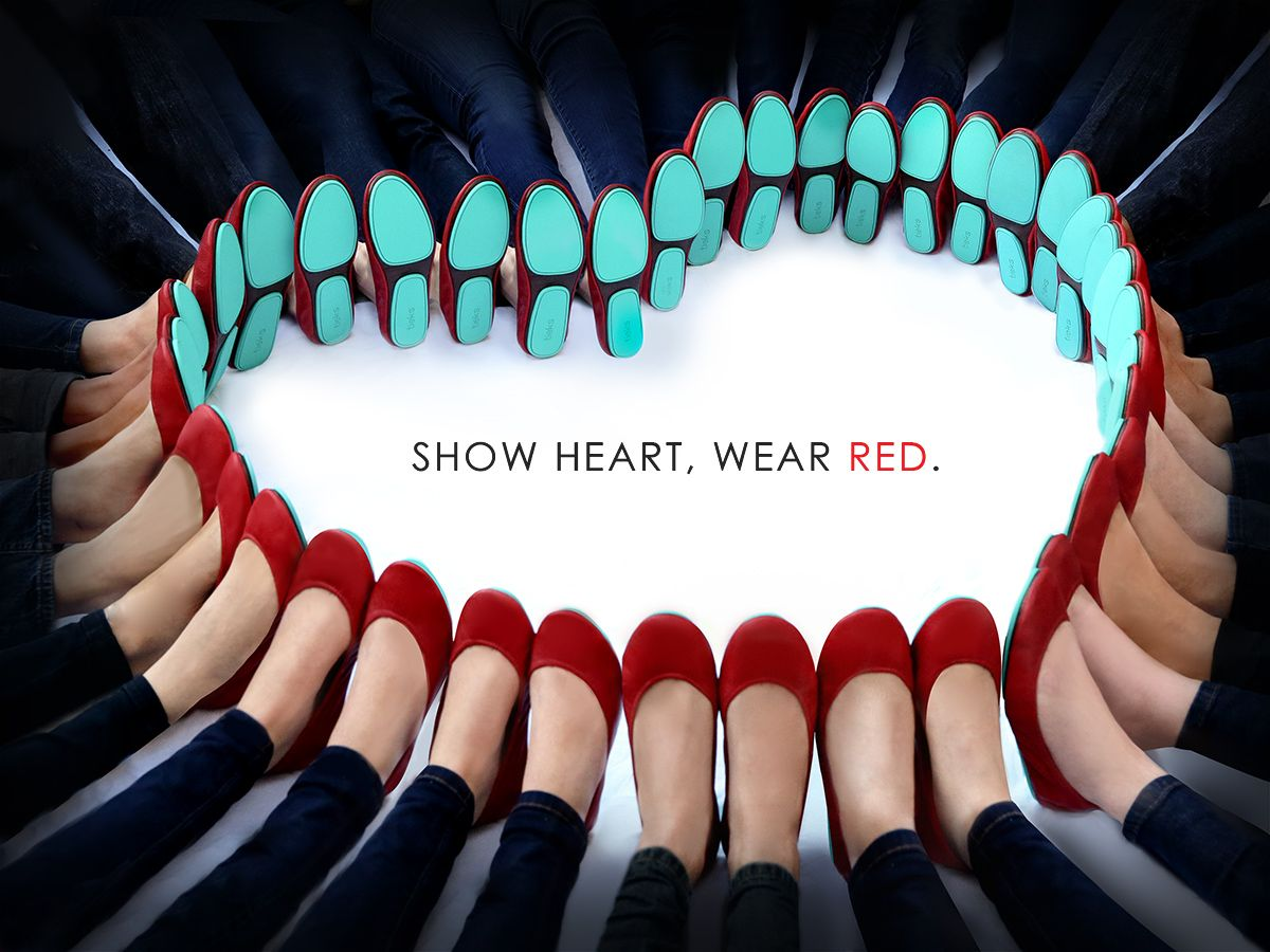 I Love This Tieks Supporting American Heart Association