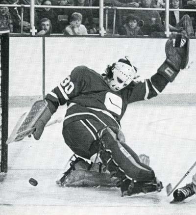 Vancouver Canucks goaltending history Bruce Bullock