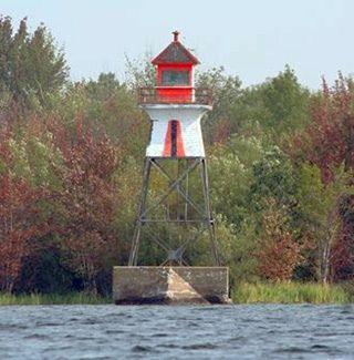 lighthouses of quebec | Ash Island Range Front Lighthouse - Quebec, Canada