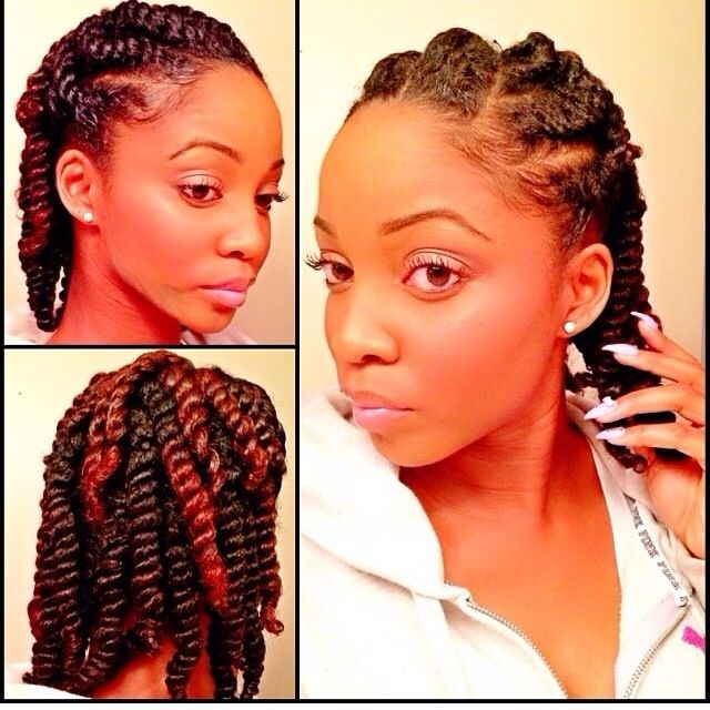 Healthy Looking Two Strand Twists Black Hair Information Community Natural Hair Styles Beautiful Natural Hair Hair Styles