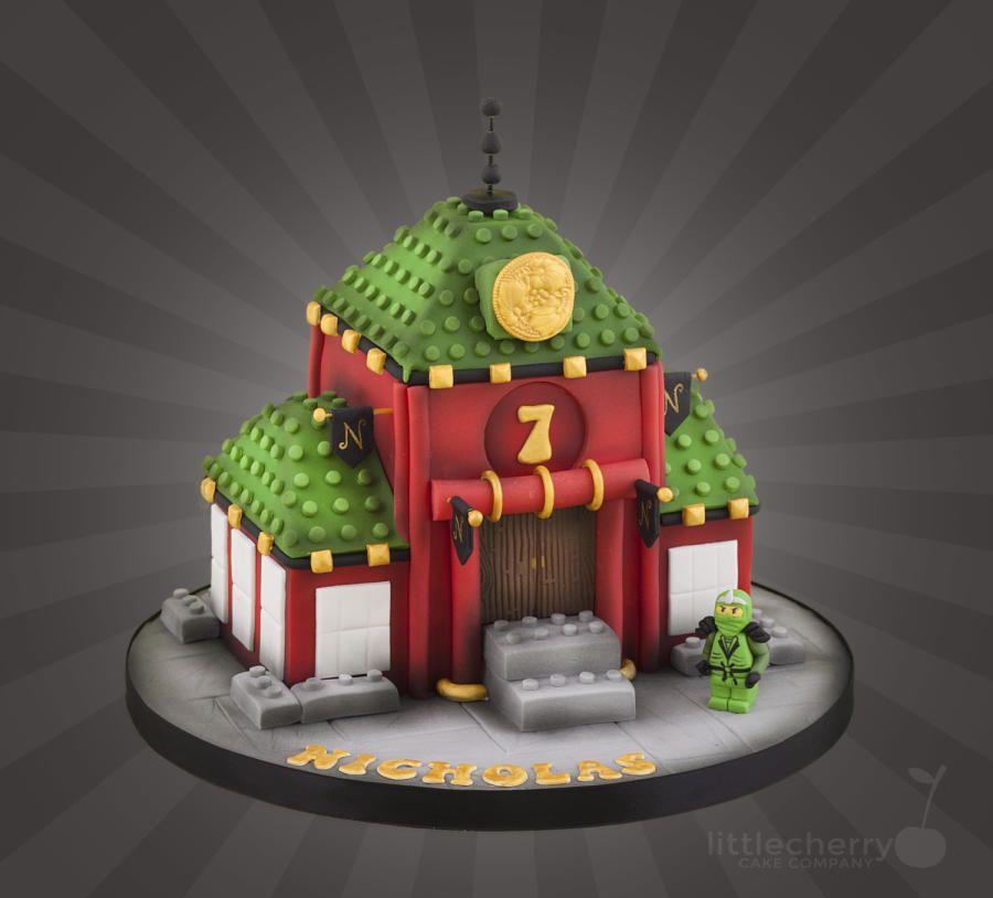 Cake Decoration Ninjago : Lego Ninjago Temple Cake by Little Cherry Cakes & Cake ...