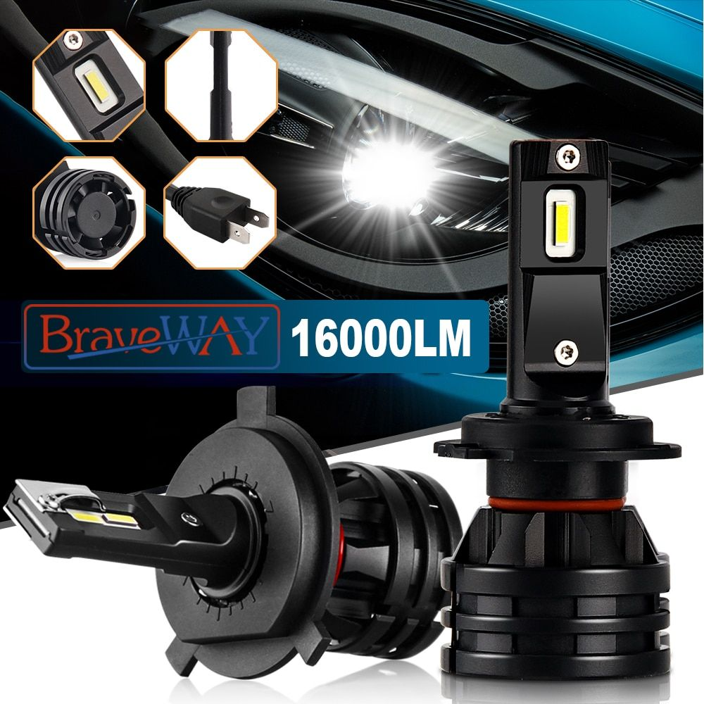 Braveway Luci Per Auto Led H7 16000lm H11 21 43 25 63 Codice Coupon Bw2020best Spedizione 2 34 In 2020 Car Lights Car Headlight Bulbs Headlight Bulbs