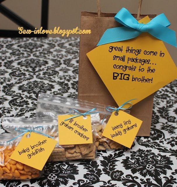 Die besten 25 gro er bruder geschenke ideen auf pinterest geschenke f rs baby gro e br der - Originelle geschenke bruder ...