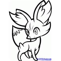 Pokemon X And Y Fennekin Coloring Pages Pokemon Coloring Pages Pokemon Coloring Pokemon Drawings