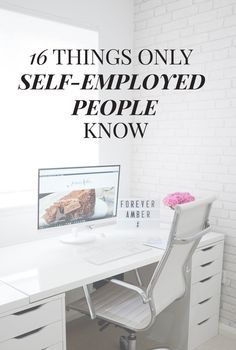 16 things only self-employed people know - but which you need to consider if you're considering starting a business or working from home