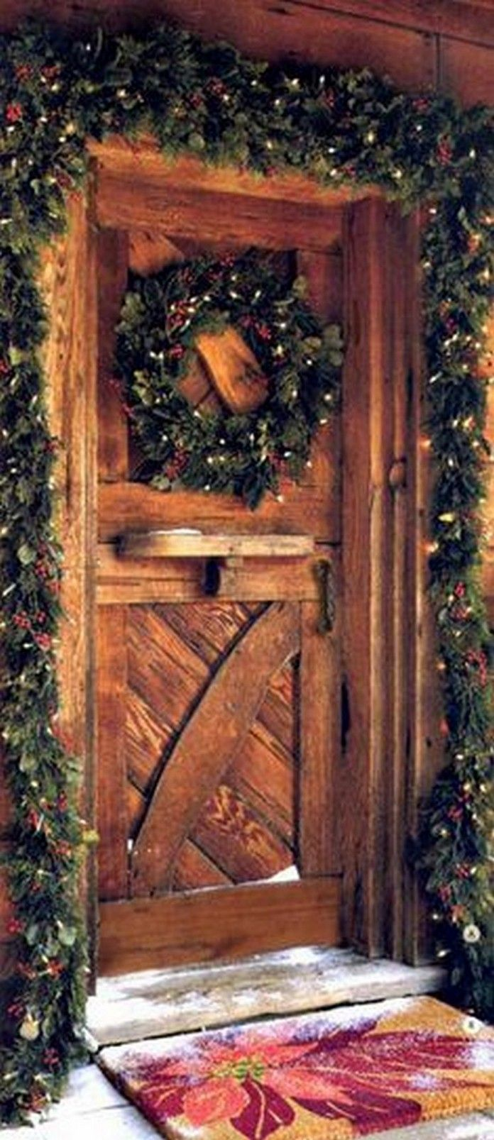 Time to get ready for the holidays at the rustic cabin.