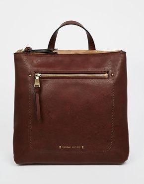 Fiorelli Brodie Zip Top Backpack with Zip Front Pocket