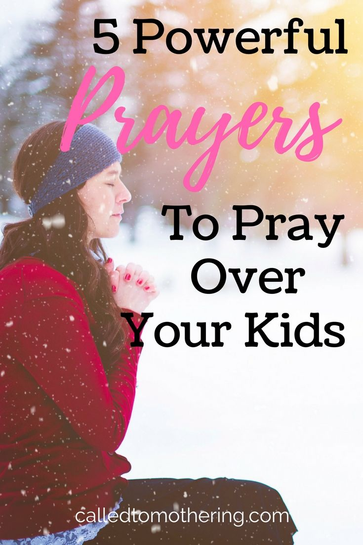 The powerful power of the mothers prayer for the child