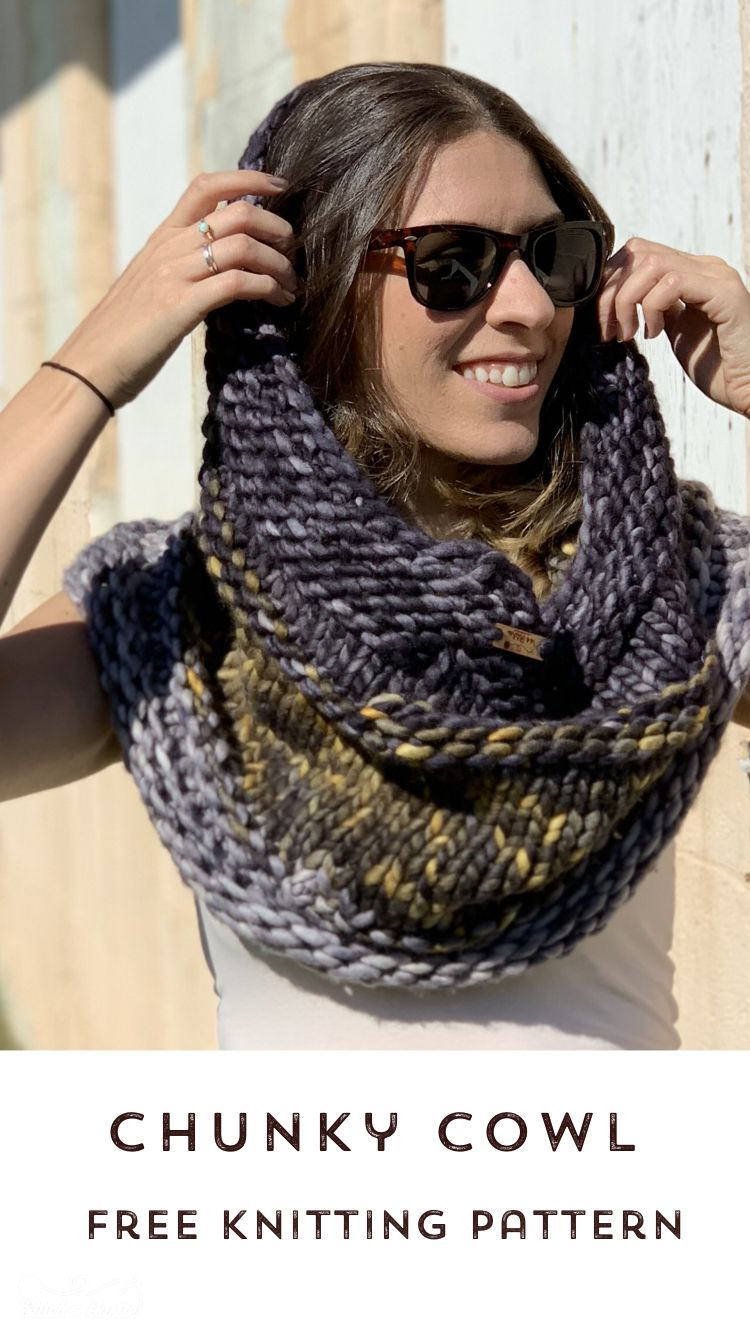 The Central Park Knit Cowl - Free Pattern   Knit cowl ...